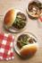 Photo culinaire de hamburger à Genève