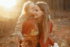 charmante photo d'une maman et sa fille dans le parc des eaux-vives